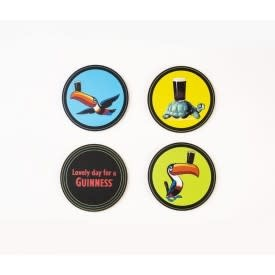 Guinness Coasters: Guinness Heritage, 4 pack