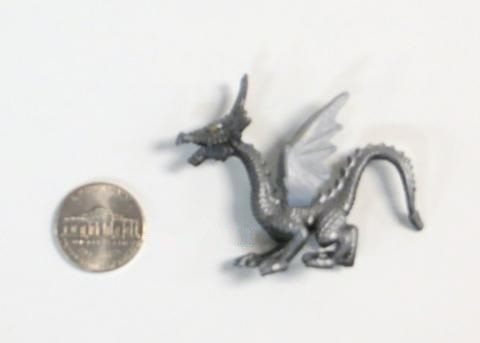 """Toy: Dragon Figures (2""""), Vinyl, Welsh"""