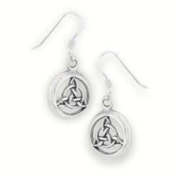 Earring: SS Triquetra