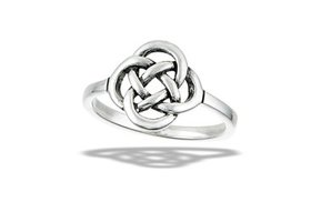 Ring: SS Classic Thick Celtic Weave