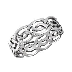 Ring: SS Celtic Weave