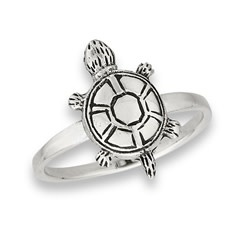 Ring: SS Turtle (Small)