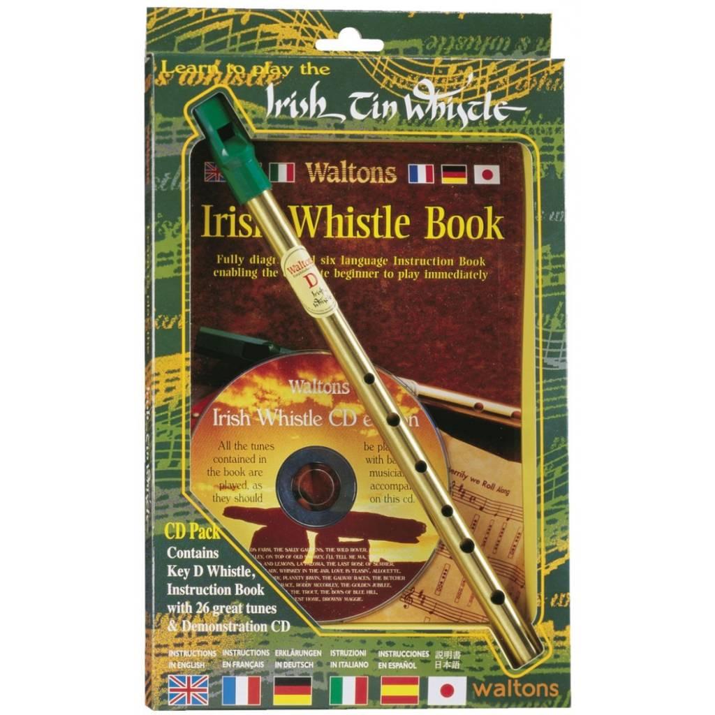 Whistle: Irish Tin w/Book+CD