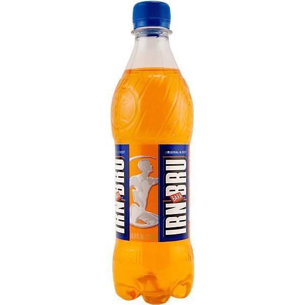 Food: Irn Bru Bottle