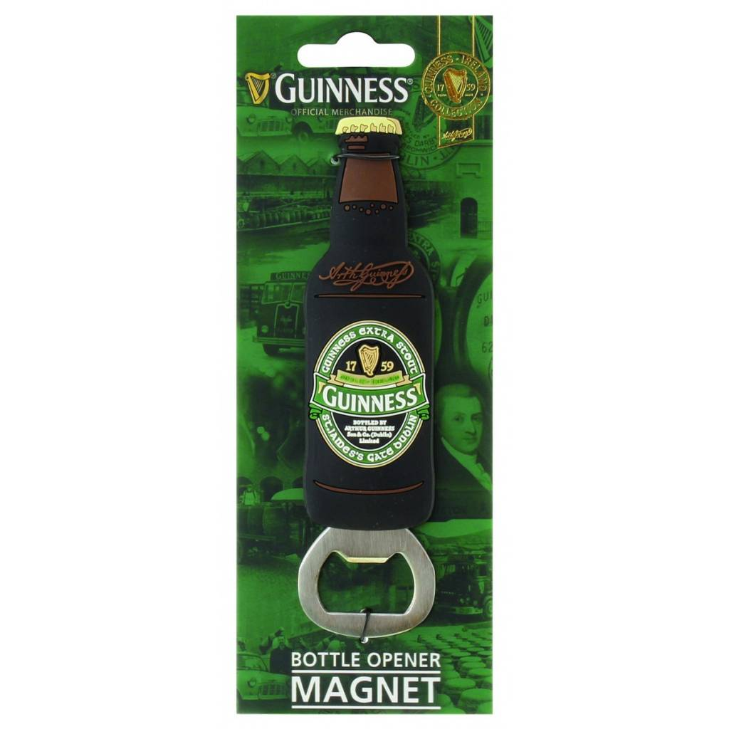 Guinness: Bottle Opener Magnet, St James Gate