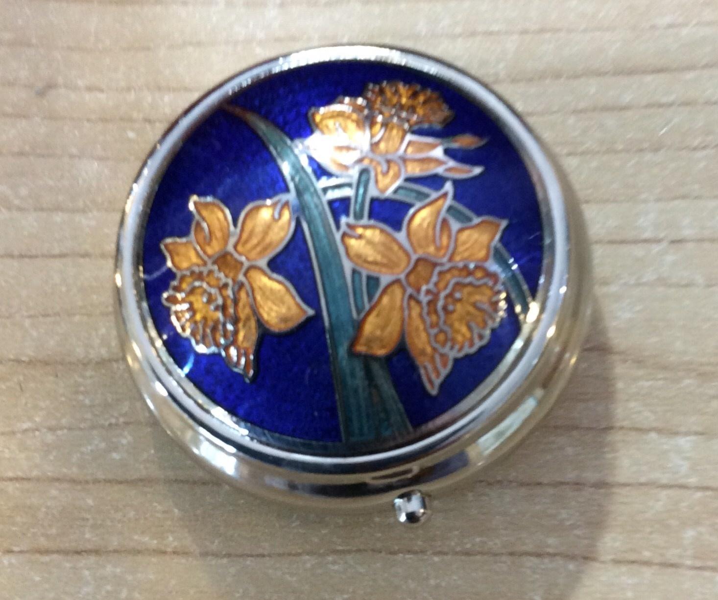Pill Box: Daffodil