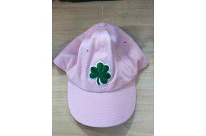 Hat: Baseball Shamrock  Pink