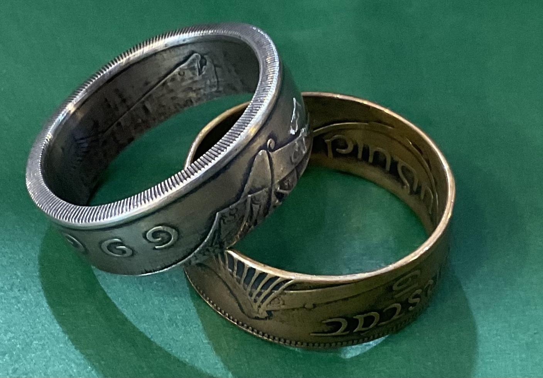 Ring: Irish Coin