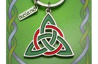 Keychain: Trinity Knot