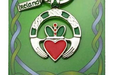 Keychain: Claddagh Ring