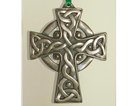Clara Ornament: High Cross Bronze