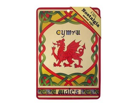 Clara Sign: Welsh Dragon Nostalgia