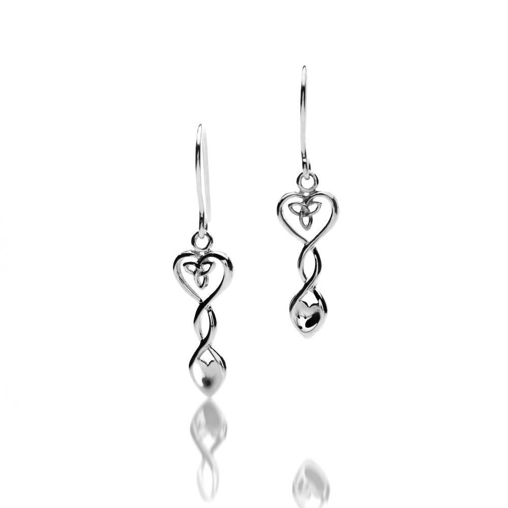 Earrings: Silver Welsh Spoon