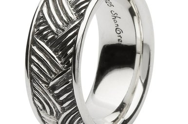 Ring: SS Celtic Weave Band