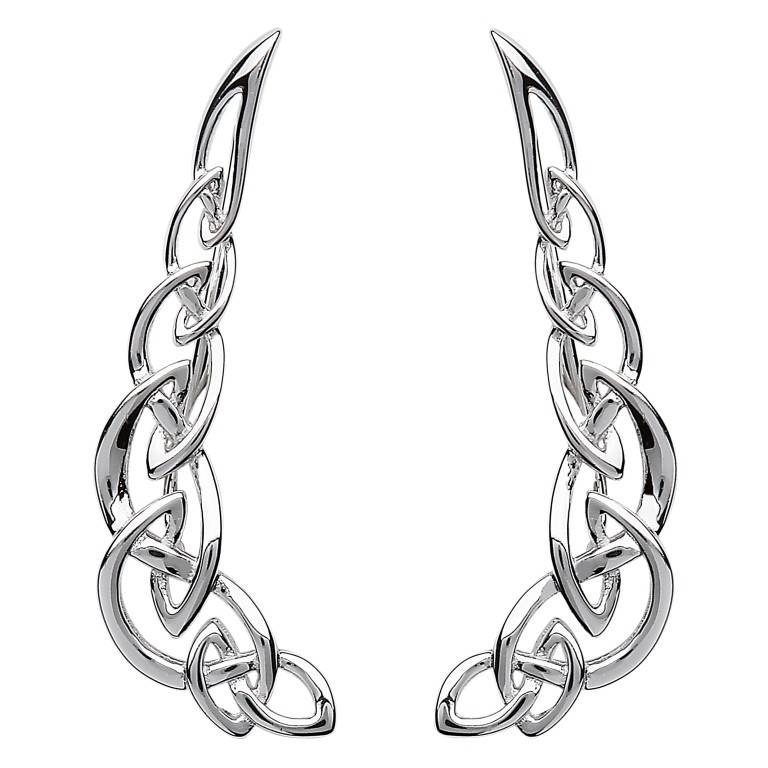 Shanore Earrings: Celtic Climber