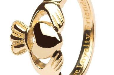 Ring: 10K Gold Claddagh