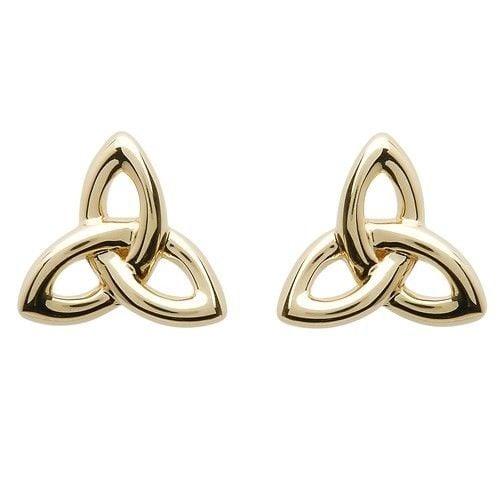 Shanore Earring: 10K Gold Trinity