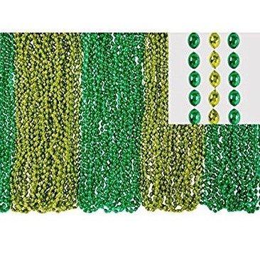 None Beads: Lucky Irish Necklace