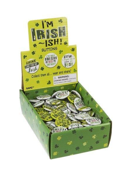 Button: I'm Irish-ish