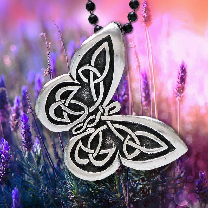 Pendant: Butterfly Pewter
