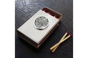 Matchbox Cover: Dragon Pewter