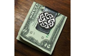 Moneyclip: Four Corners Pewter