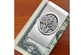 Moneyclip: Dragon Pewter