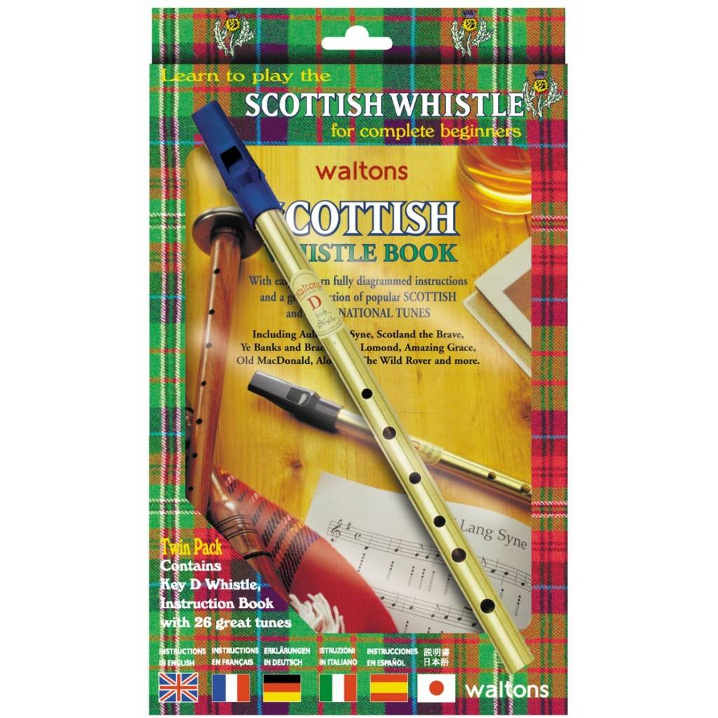 Whistle: Scottish Tin w/o CD