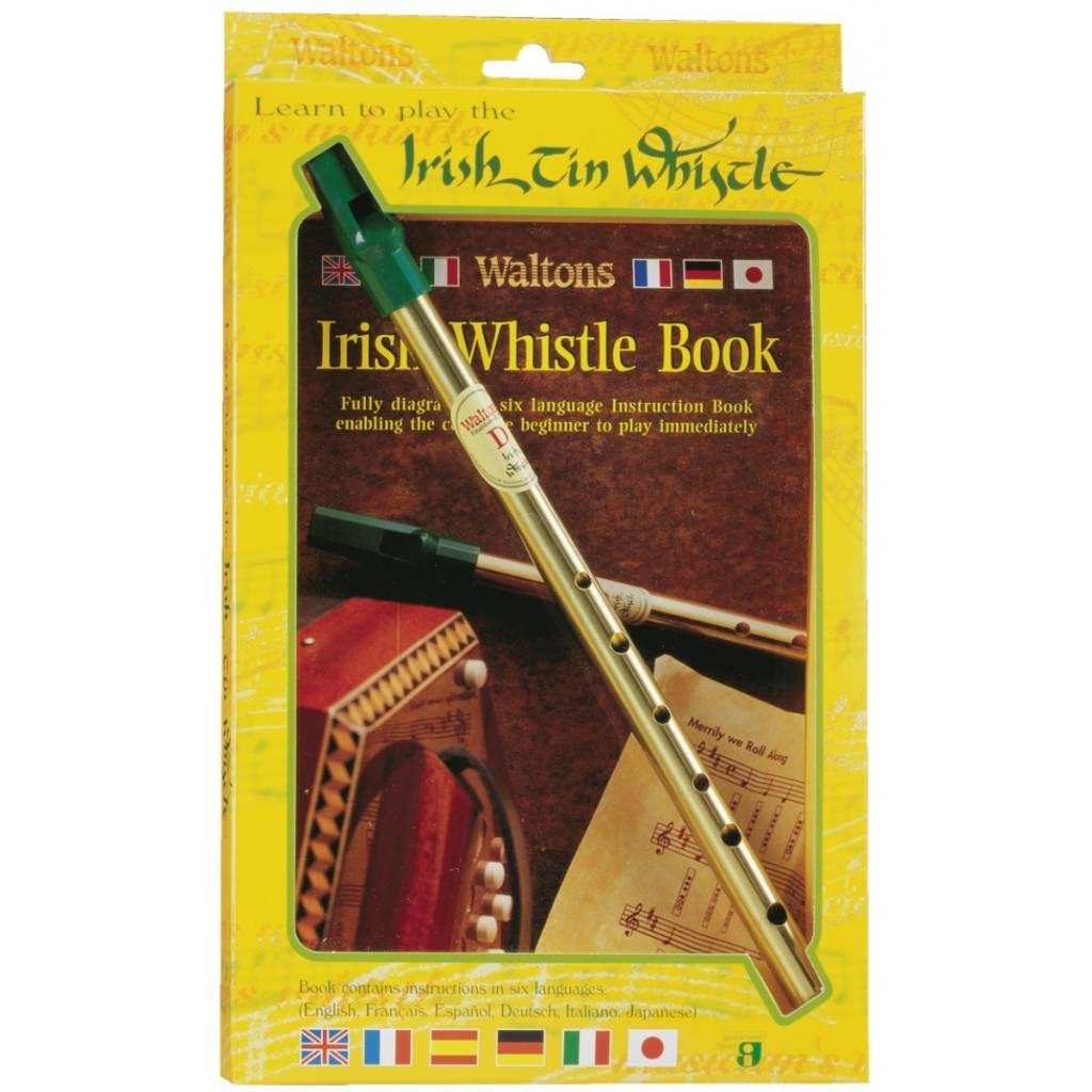 Whistle: Irish Tin w/Book