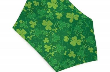 Umbrella: Ireland Shamrock