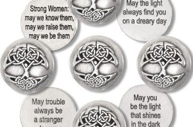 Token: Tree of Life Blessing Pewter