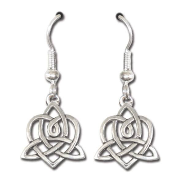 Earrings: Brigid's Heart