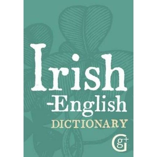Book Book: Irish-English Dictionary