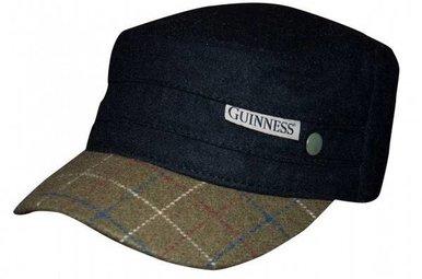 Hat: Tweed Guinness Cadet's Cap