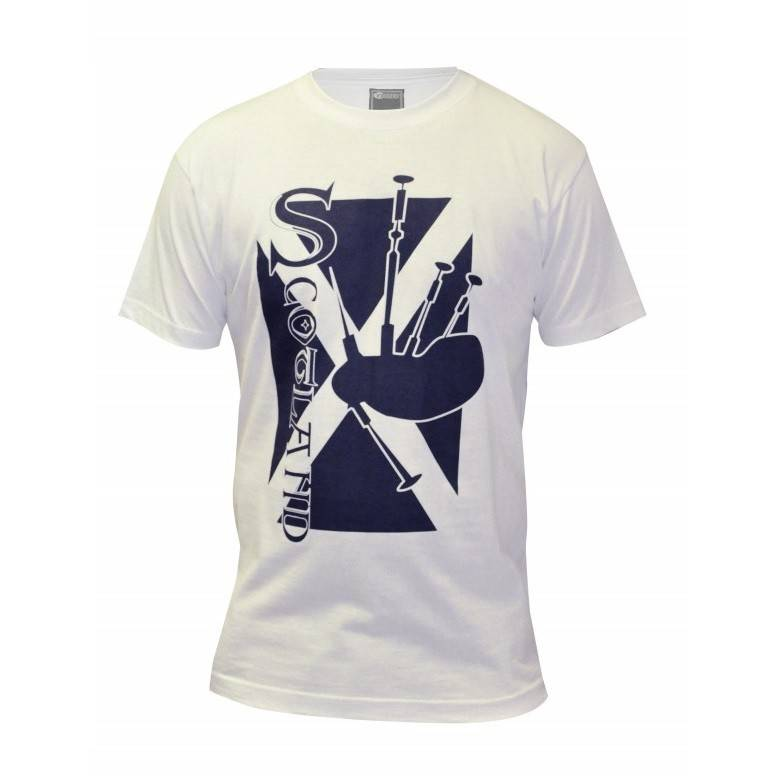 Shirt: Scotland Bagpipe Tee