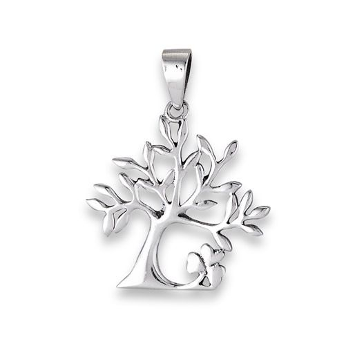 Pendant: SS Tree of Life/Shamrock