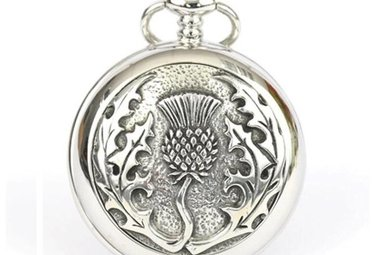 Pocket Watch: Thistle