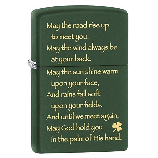 Lighter: Zippo Irish Blessing