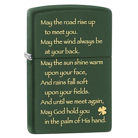 Zippo Lighter: Zippo Irish Blessing