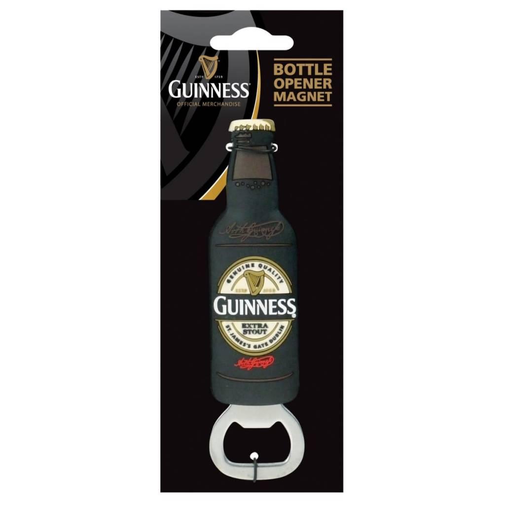 Guinness: Bottle Opener Magnet, Label