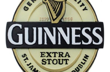 Guinness: Resin Magnet, Label