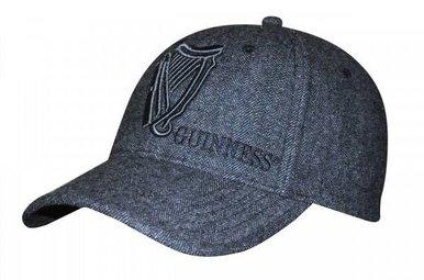 Hat: Guinness Grey Tweed Harp