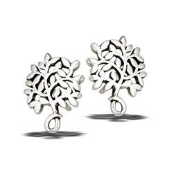 Earrings: SS Tree of Life Post