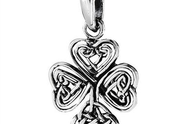 Pendant: SS Knotted Shamrock