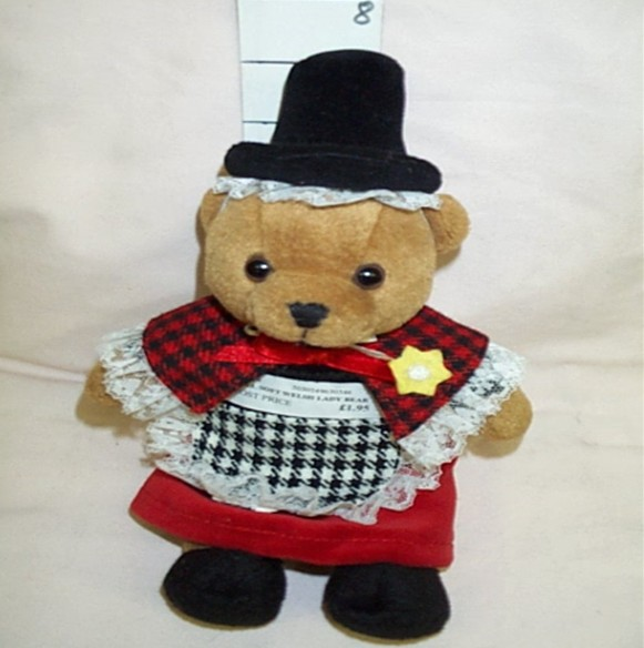 Toy: Welsh Lady Bear
