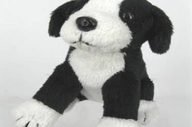 "Toy: Sitting Sheepdog, 4"""