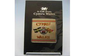 Magnet: Crests of Wales, Foil