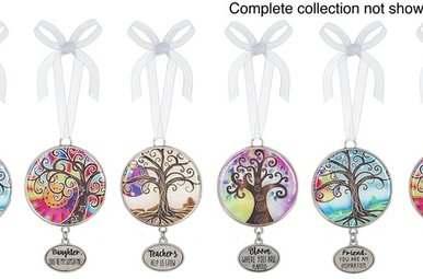 Ornament: Tree of Life Color