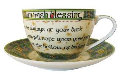 Mug: Blessing Cup & Saucer