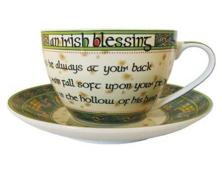 Clara Mug: Blessing Cup & Saucer